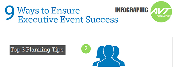[Infographic] 9 Ways to Executives Event Success